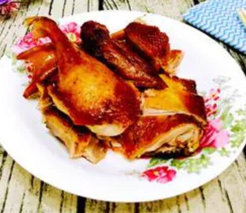 四川特色美食之张烤鸭